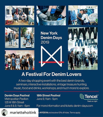 Denim Days Festival, Jean Shop Vintage Jeans