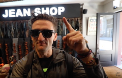 Casey Neistat in Jean Shop NYC