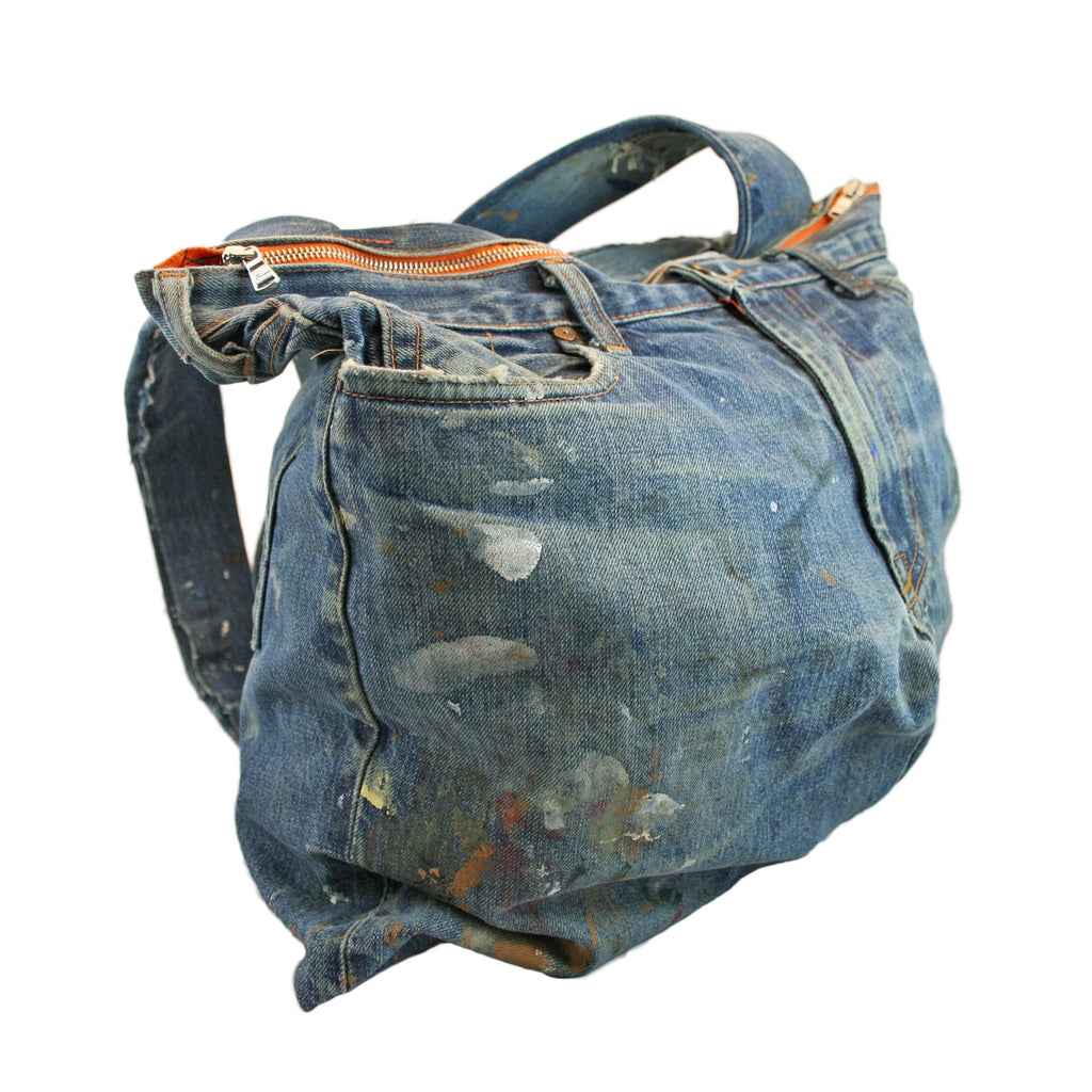 Denim Backpack - Jean Shop NYC