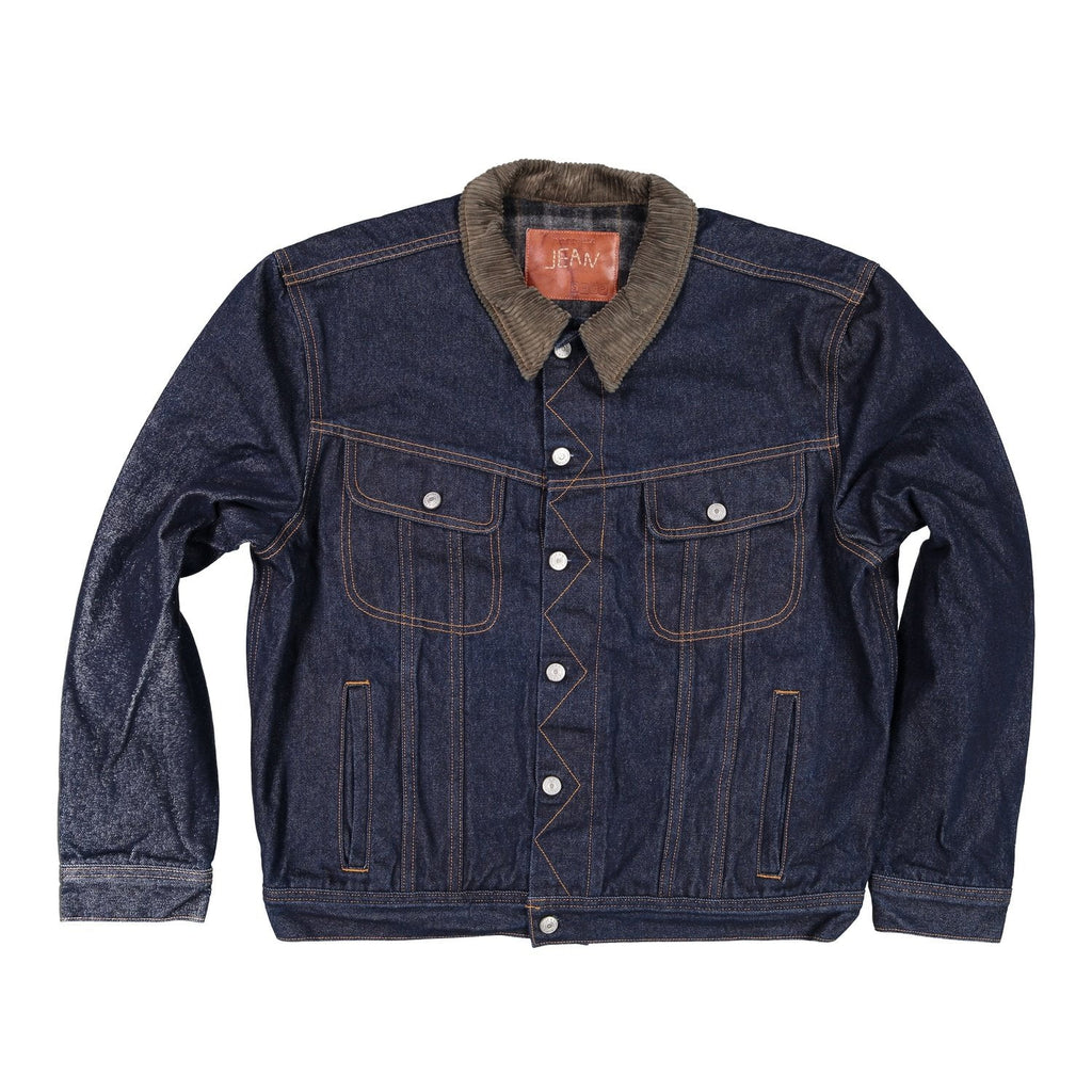 Keith, Wool Lined Denim Jacket