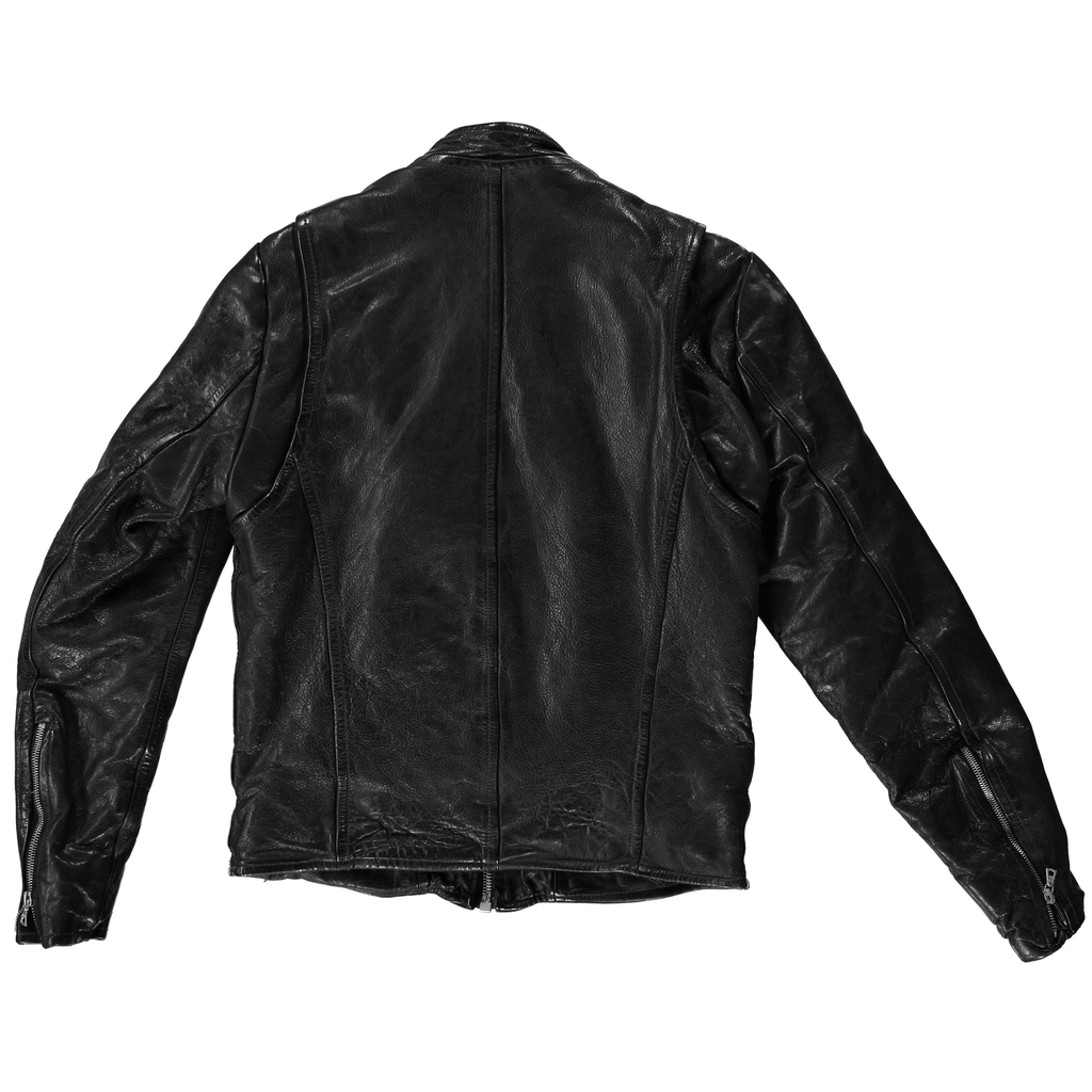 Men's Leather Moto Jacket Goat - Jean Shop NYC