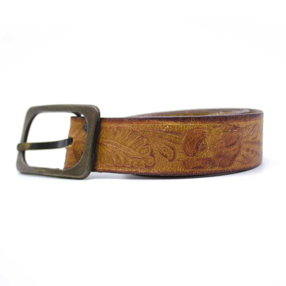 Vintage Skinny Leather Belt - Jean Shop NYC