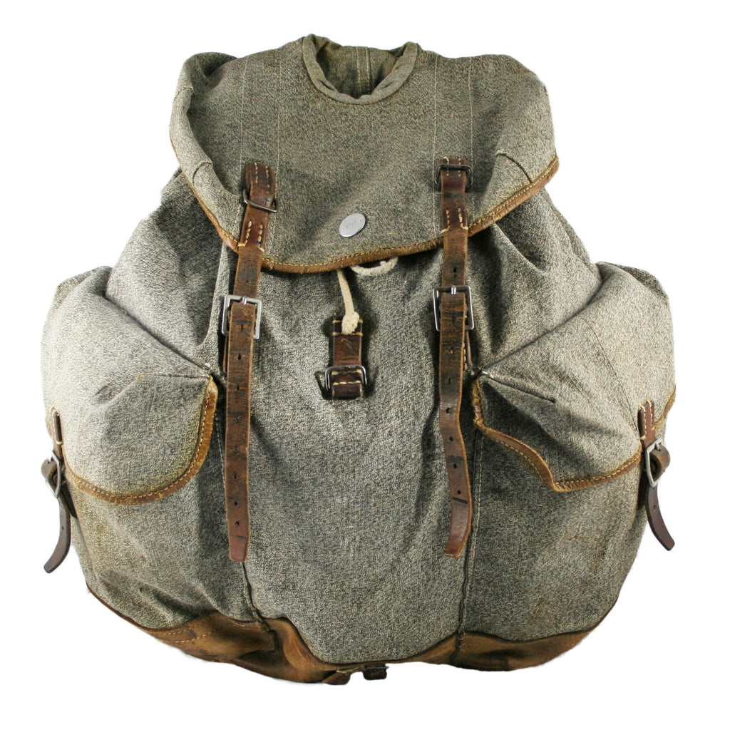 Vintage Swiss Military Backpack