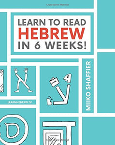 Learn to Read Hebrew in 6 Weeks! - Travel Size