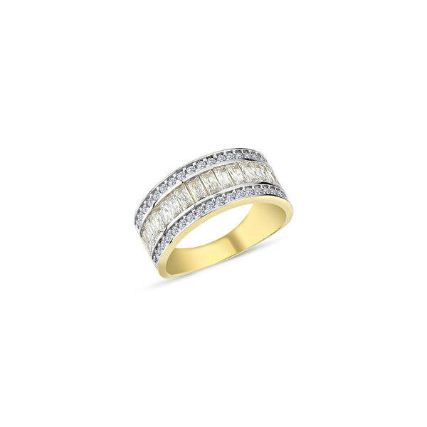 9CT GOLD LADIES RING