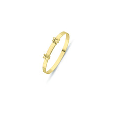 9CT GOLD BABY EXPANDABLE BANGLE