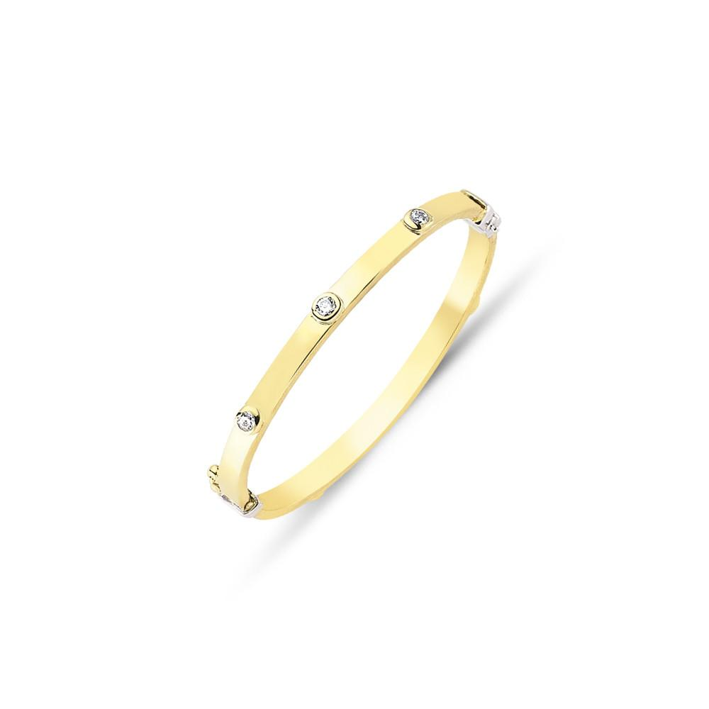 9CT GOLD BABY BANGLES