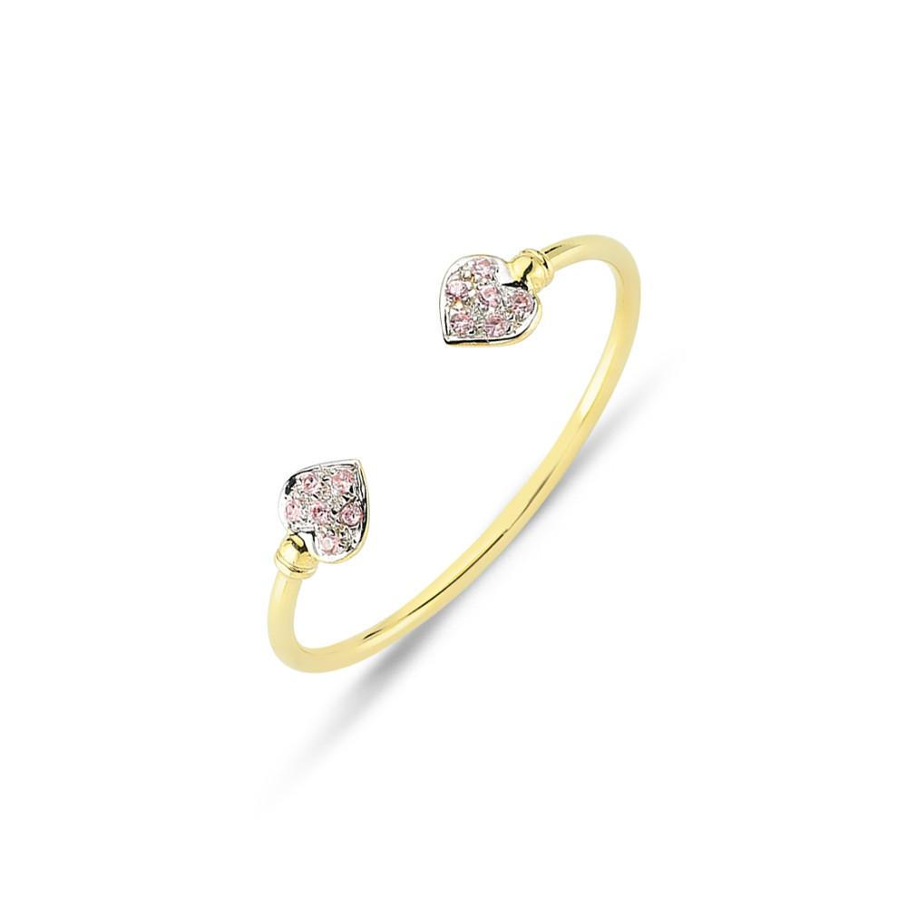 9CT GOLD BABY SOLID BANGLE