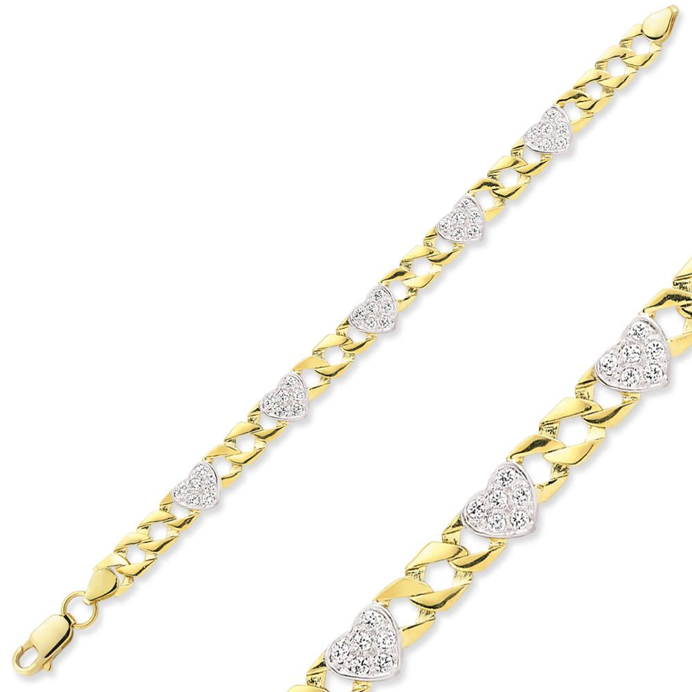 9CT GOLD BABY CHAPS BRACELET