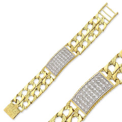 9CT GOLD BABY CHAPS BRACELETS