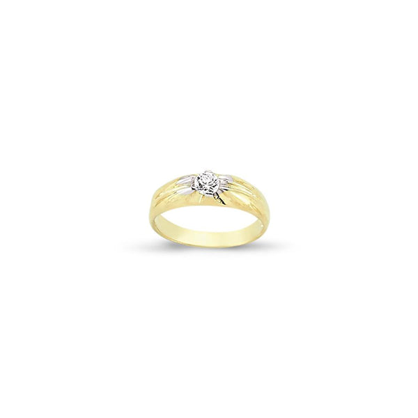 9CT GOLD BABY RING