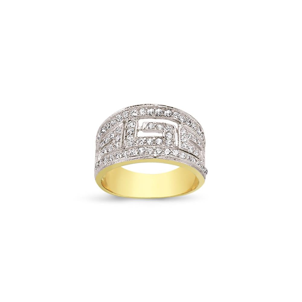 9CT GOLD LADIES RINGS