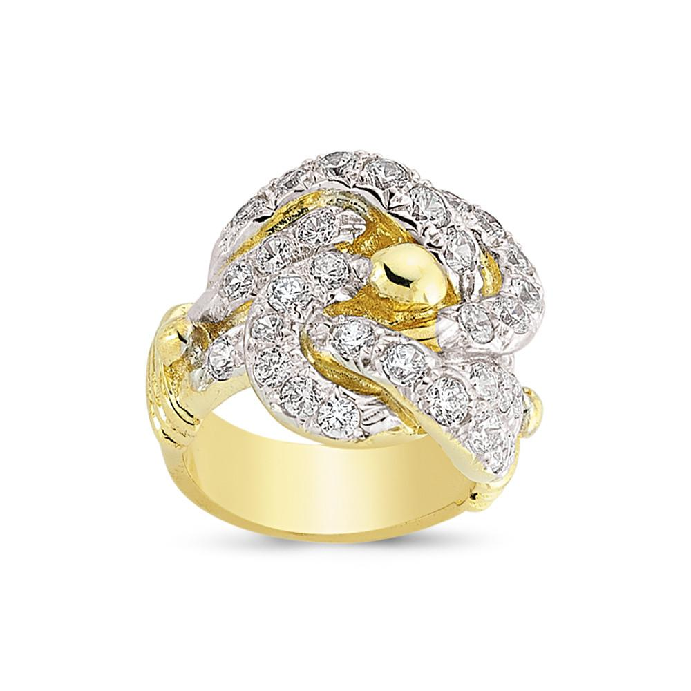 9CT GOLD GENTS RING