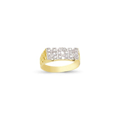 9CT GOLD NAN RING