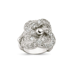SILVER GENTS RING