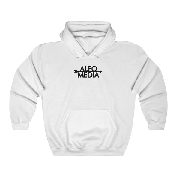 Alfo Media | Black Arrow Hoodie