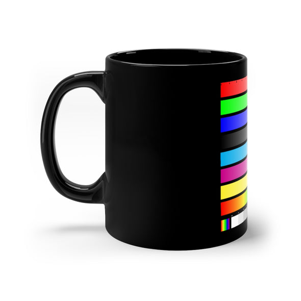 11oz Black Mug - SAMPLE