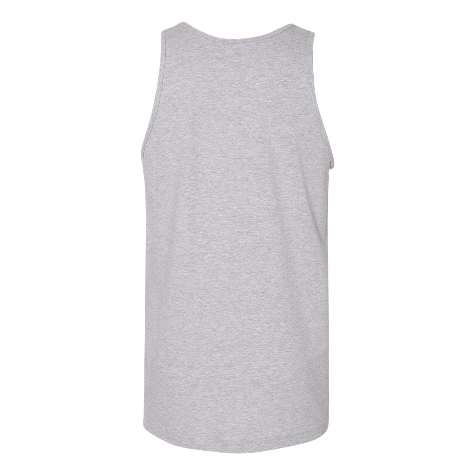 Premium Mountain Logo Tank - Heather Grey