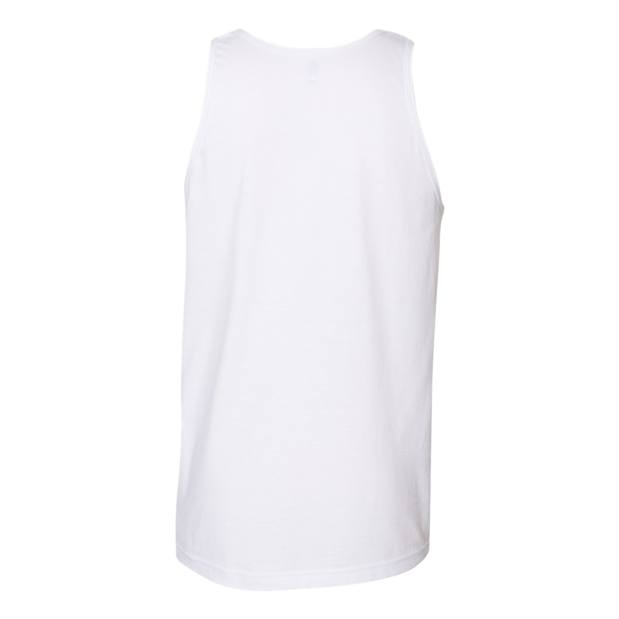 Premium Mountain Logo Tank - White