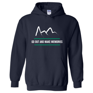 Mountain Hoodie - Navy