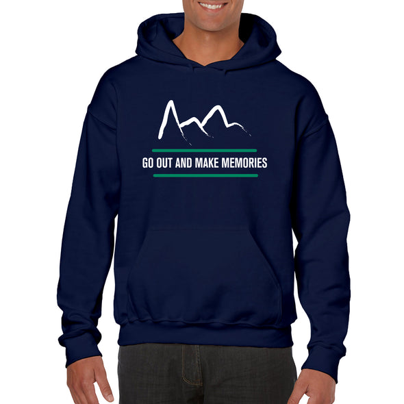 Mountain Hoodie - Navy - Outloud Merch