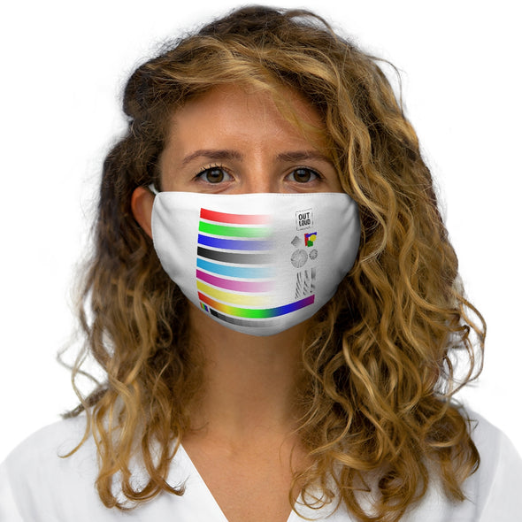 Snug-Fit Polyester Face Mask - SAMPLE (ONE COLOR)