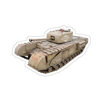 Lindybeige | Churchill Mark VI Tank Sticker