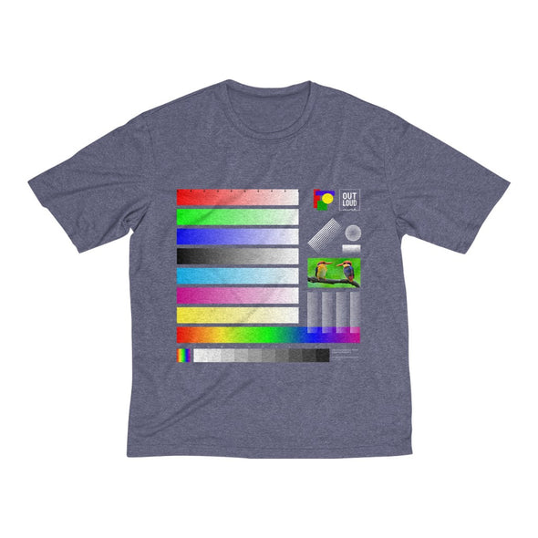 Men's Heather Dri-Fit Tee - SAMPLE ( All colors)