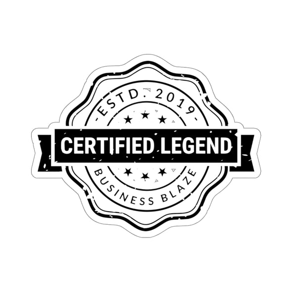 Simon Whistler - Certified Legend Sticker