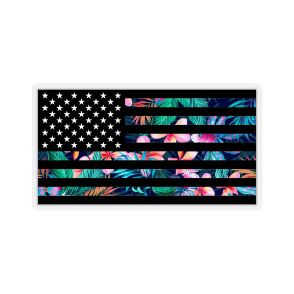 Backyard Scientist | Hawaiian Flag Sticker
