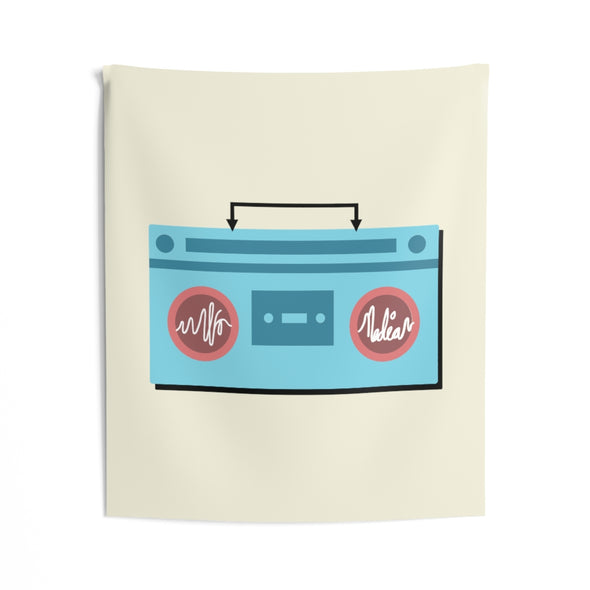Alfo Media | Boombox Wall Tapestry