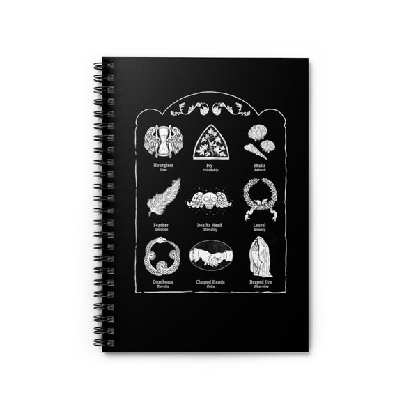 Order of the Good Death | Grave Symbol Notebook
