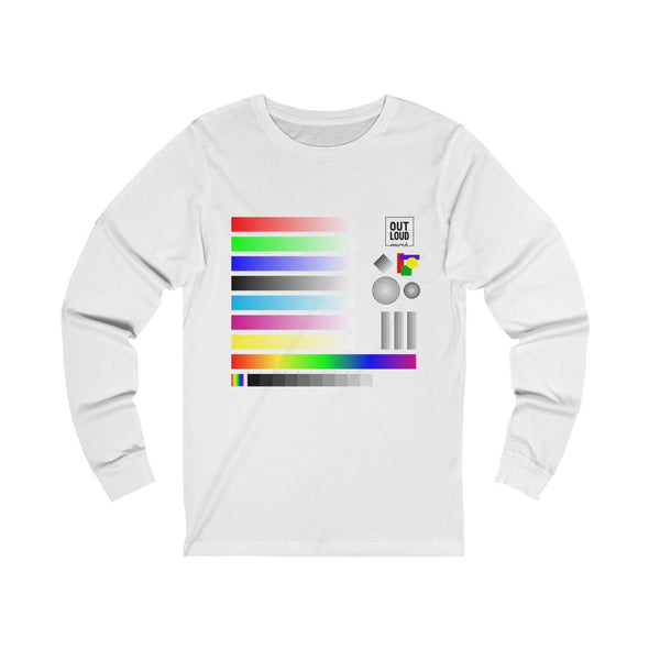 Unisex Jersey Long Sleeve Tee - SAMPLE (ALL COLORS)