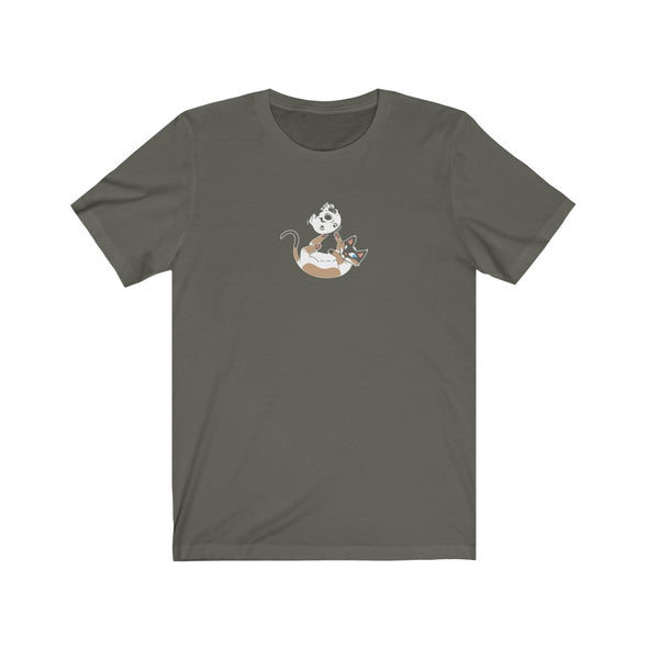 Order of the Good Death | Meow and Skull Tee