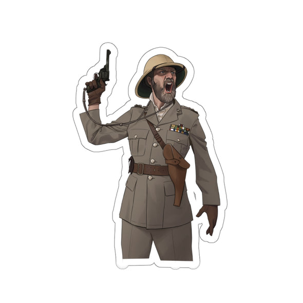 Lindybeige | British Officer Sticker