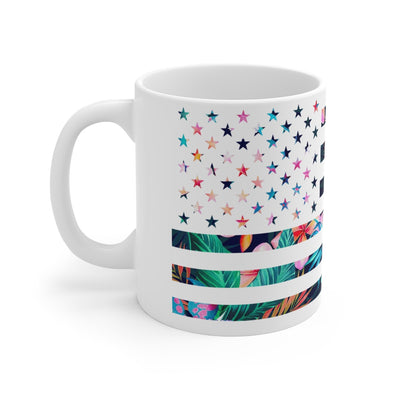 Backyard Scientist | Hawaiian Flag Mug - White