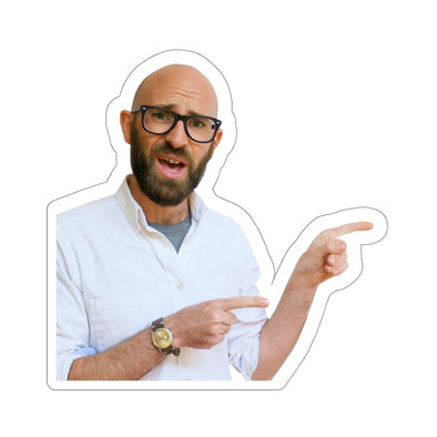 Simon Whistler - Simon Pointing Sticker