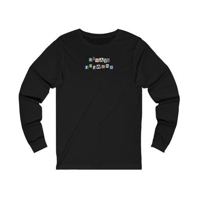 Alfo Media | Ransom Note Long Sleeve Tee