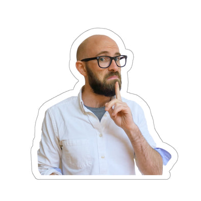 Simon Whistler - Simon Thinking Sticker