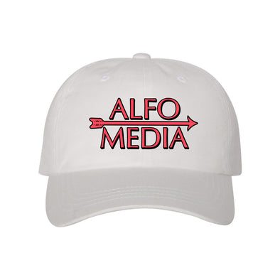 Alfo Media Hat - White - Outloud Merch