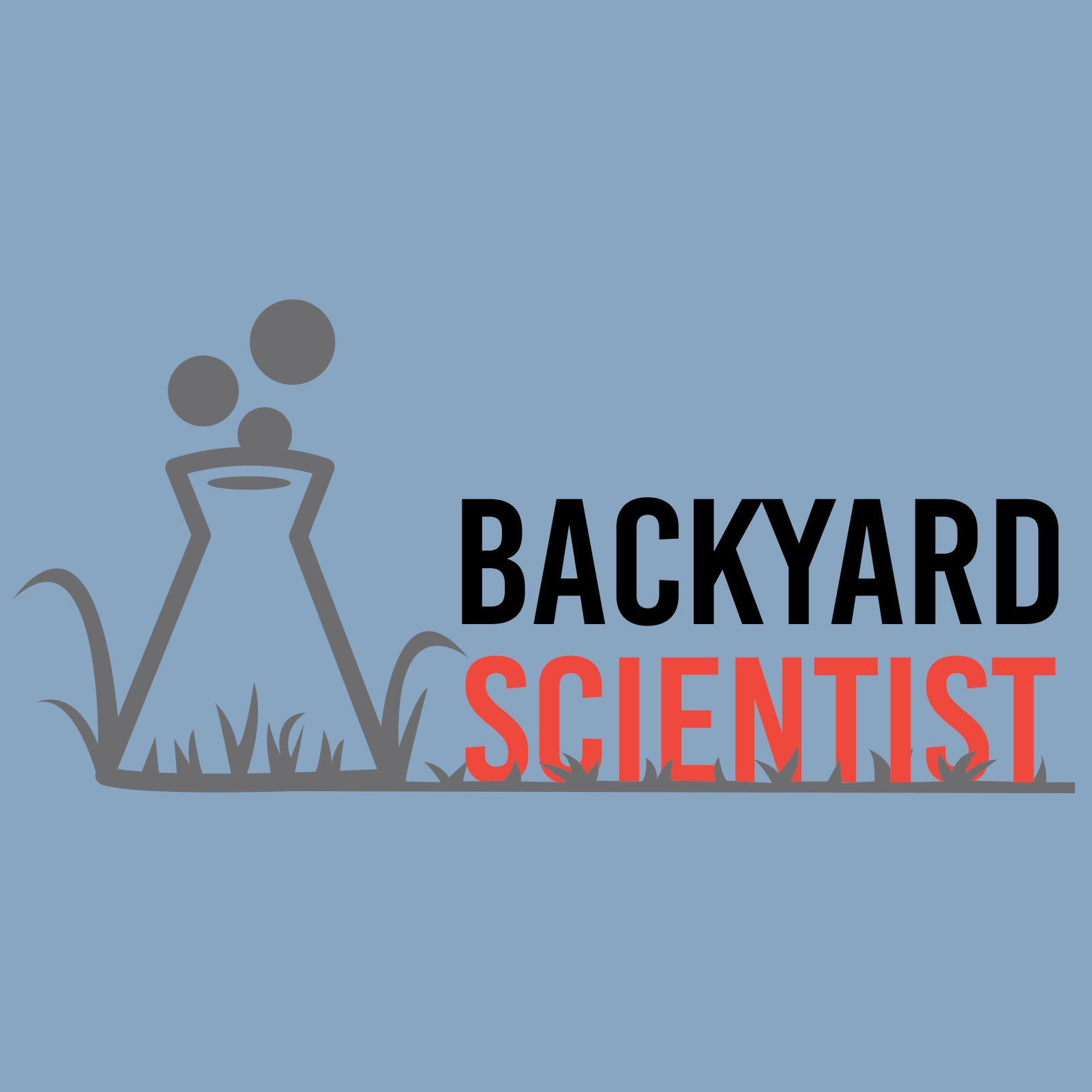 Backyard Scientist - Light Blue