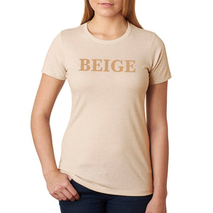 BEIGE Tee - Ladies