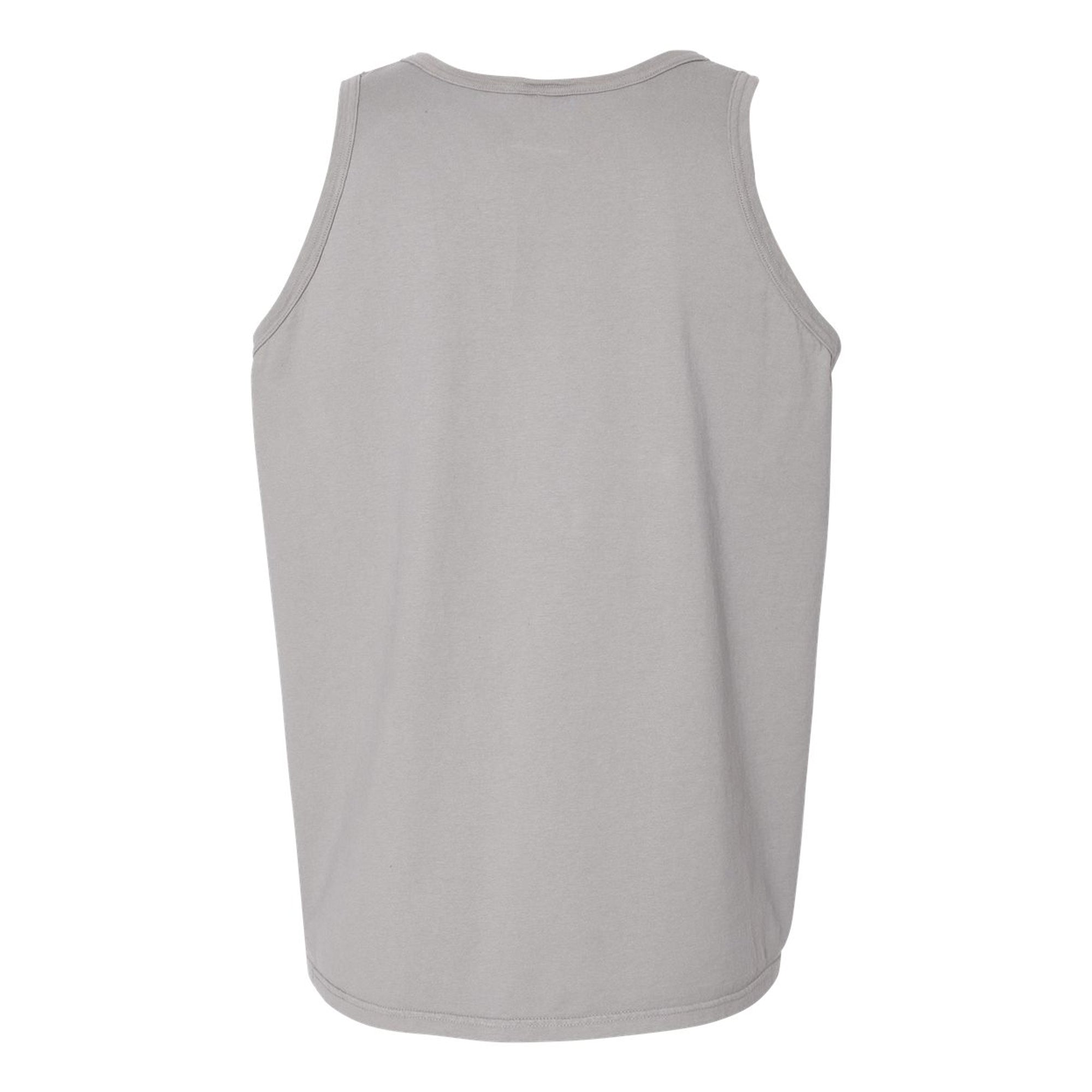 Mountain Logo Tank - Concrete Grey
