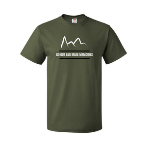 Mountain T-Shirt - Military Green