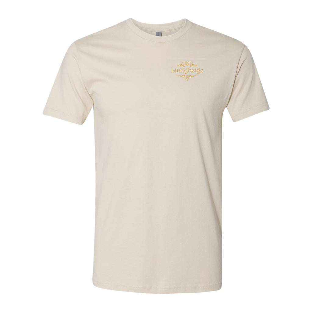 Logo Tee Left Chest - Beige