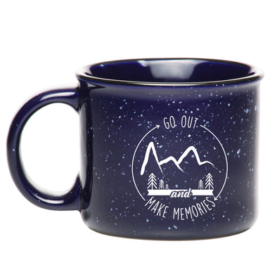 Make Memories Mug - Blue - Outloud Merch