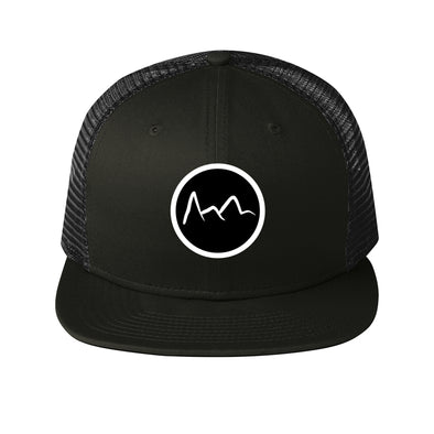 Mountain Trucker Hat- Black - Outloud Merch
