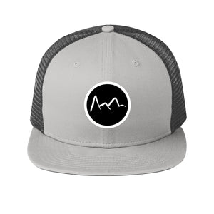 Mountain Trucker Hat- Grey
