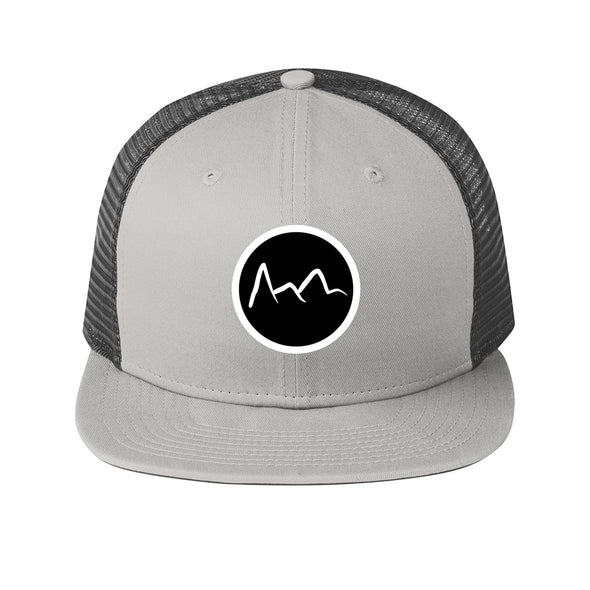 Mountain Trucker Hat- Grey - Outloud Merch