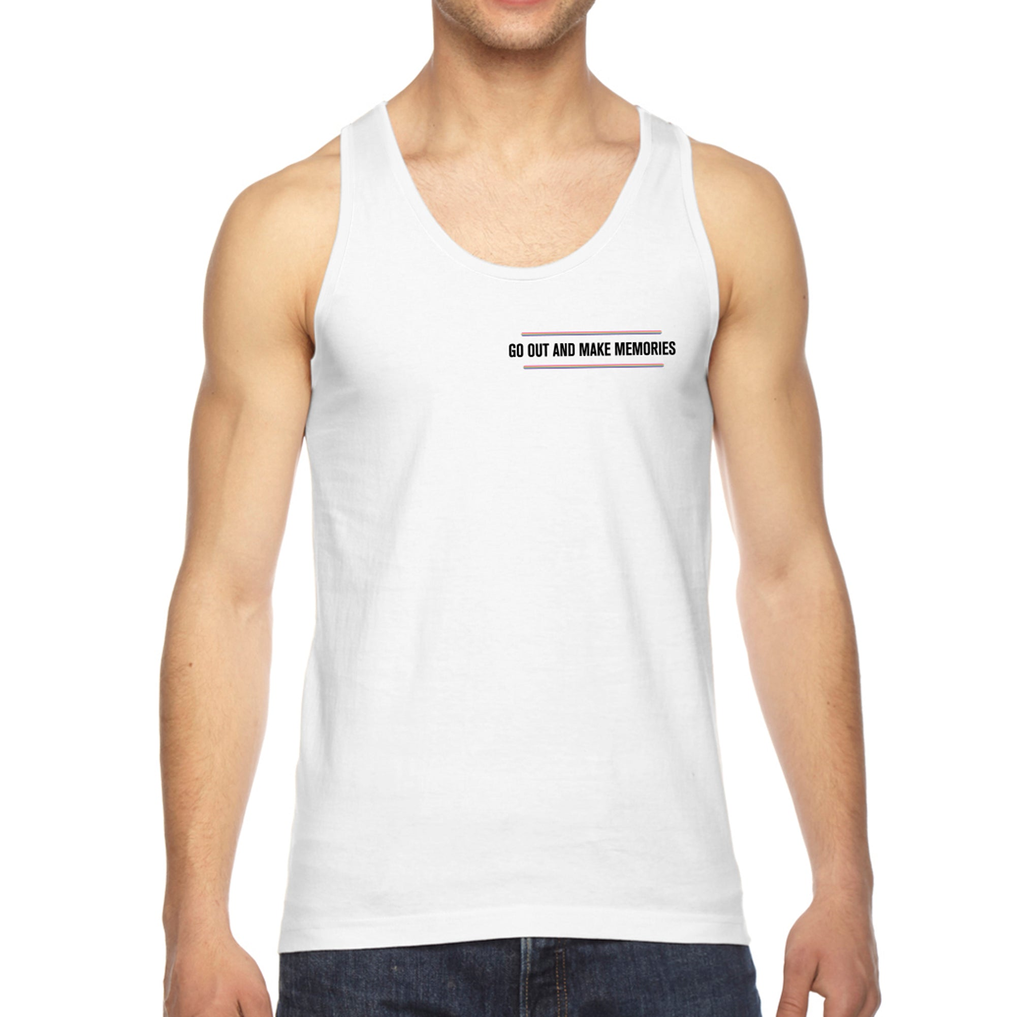 Pride Memories Tank - White